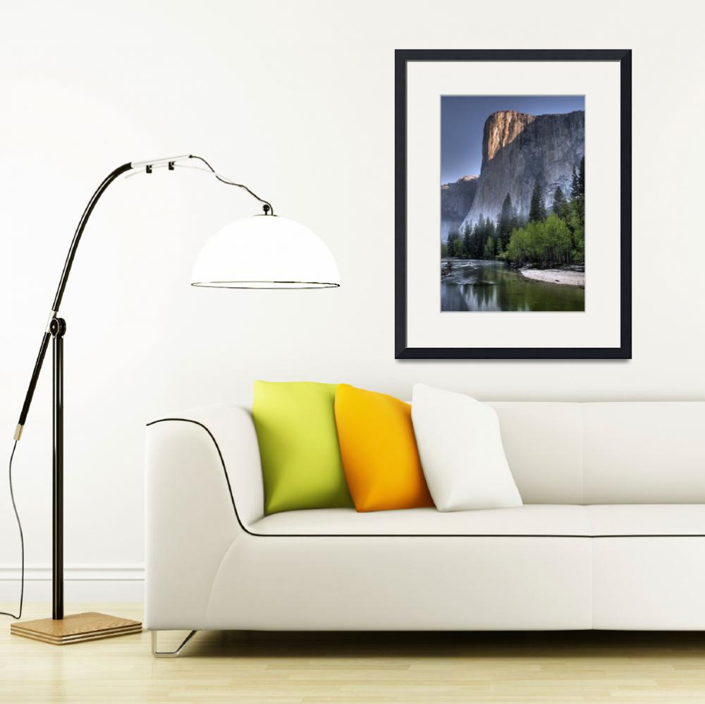"""Sunrise on El Capitan&quot  (2007) by DenisW"