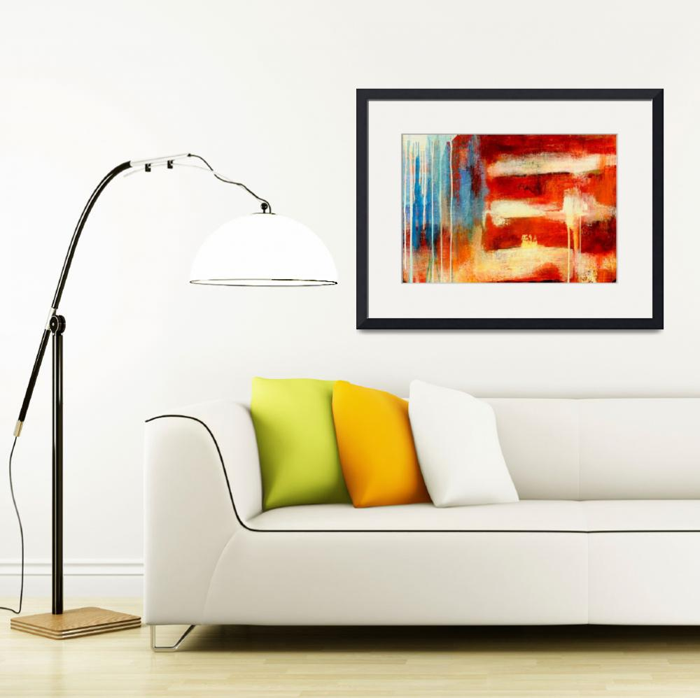 """Abstract USA&quot  (2008) by ErinAshley"
