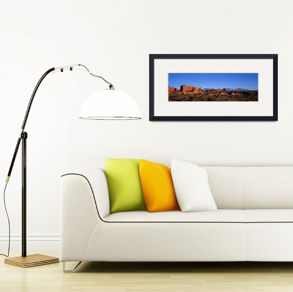 """Arches National Park Moab Utah&quot  by Panoramic_Images"
