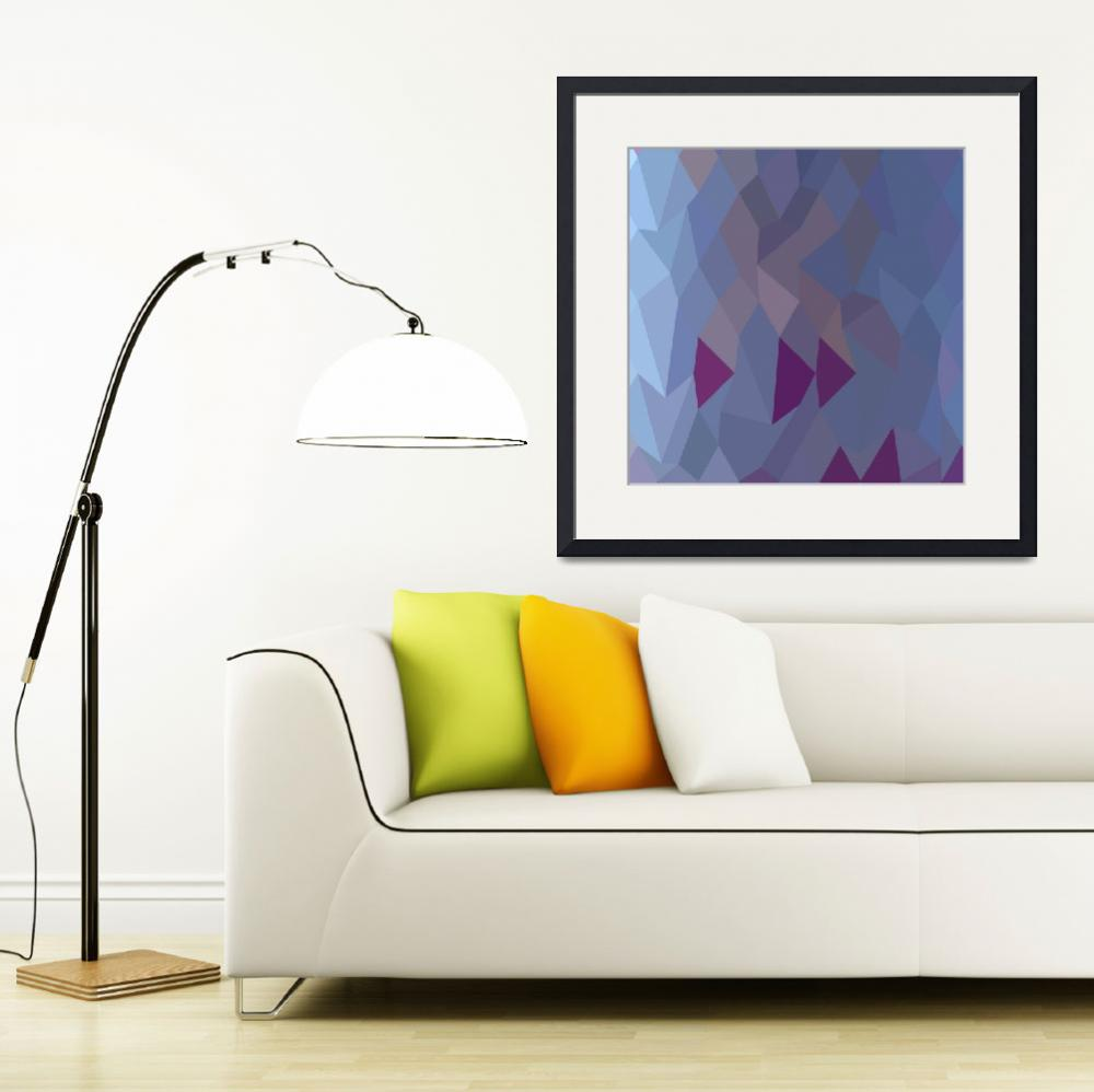 """Pastel Purple Abstract Low Polygon Background&quot  (2015) by patrimonio"