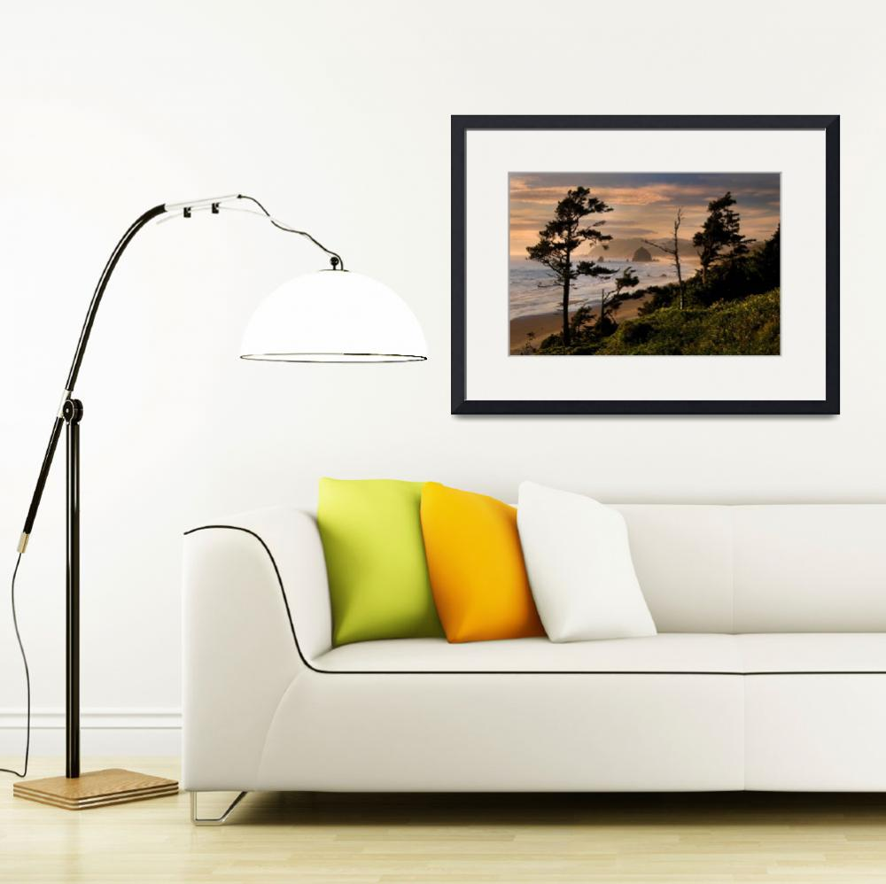 """The Shores of Cannon Beach&quot  by pbk"