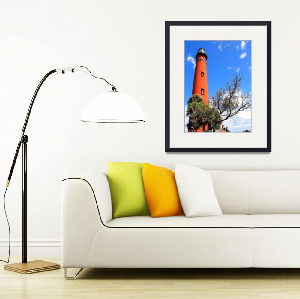 """Towering Lighthouse&quot  (2009) by ChrisCrowley"