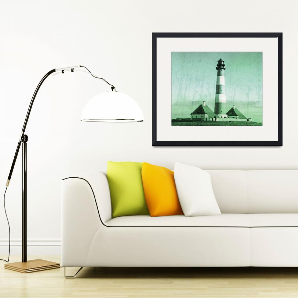 """Lighthouse - ID 16217-152113-5939&quot  by lurksart"