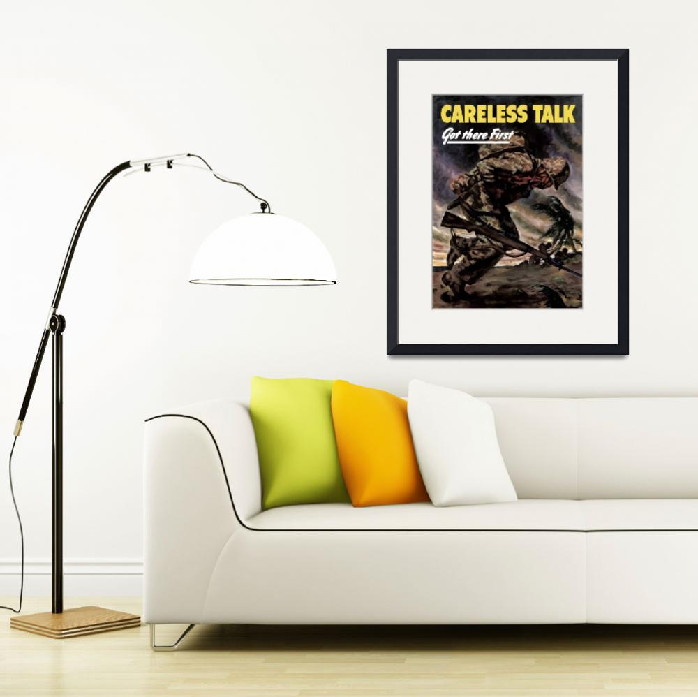 """Digitally restored vector war propaganda poster. C&quot  by stocktrekimages"