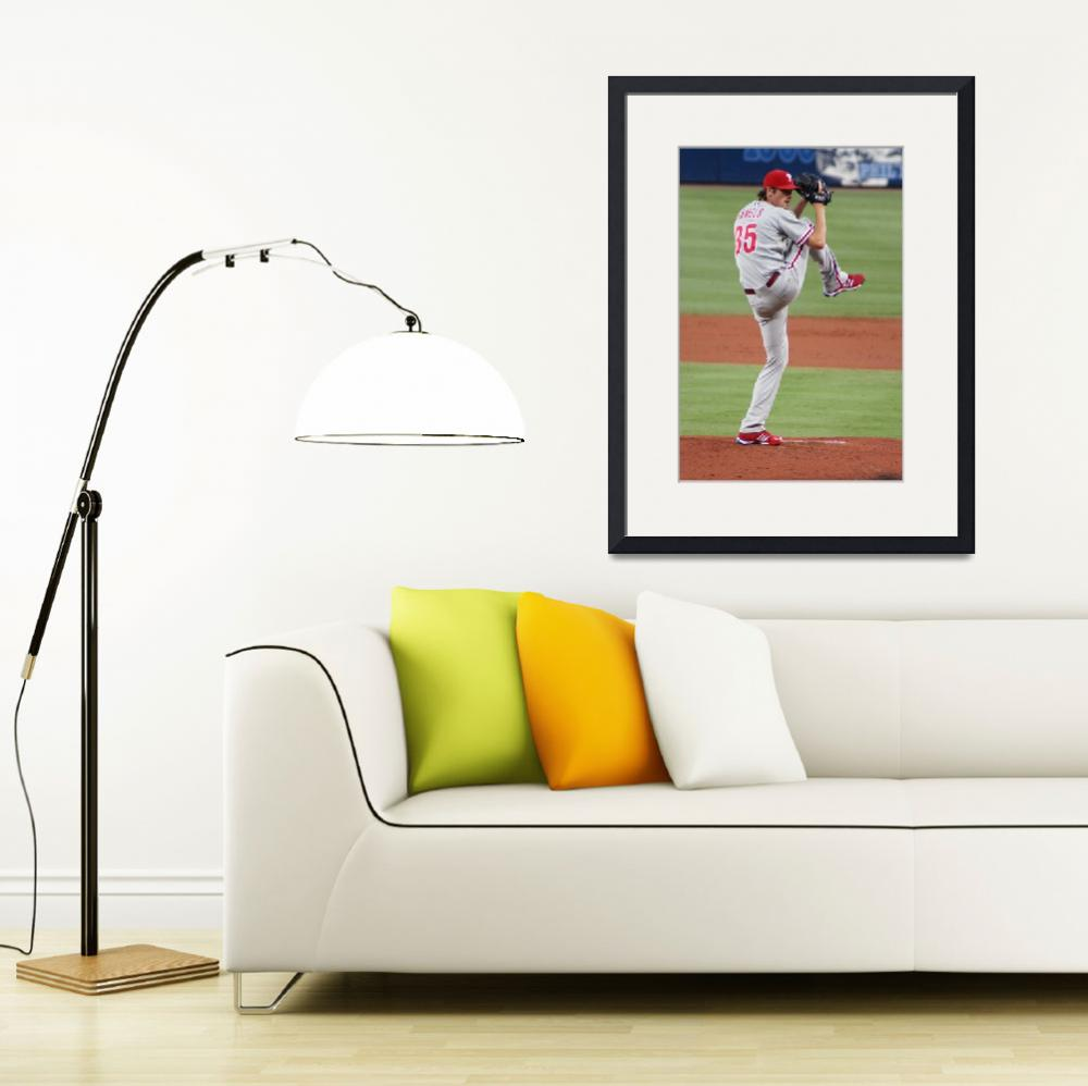 """Phillies Cole Hamels&quot  (2008) by klaiberphoto"