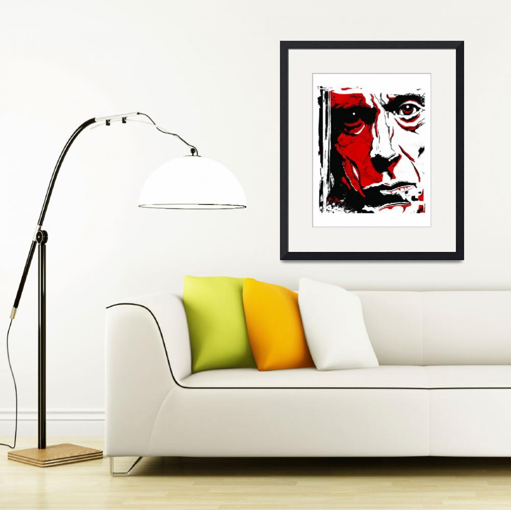"""Iggy Pop&quot  (2007) by tBaneArt"