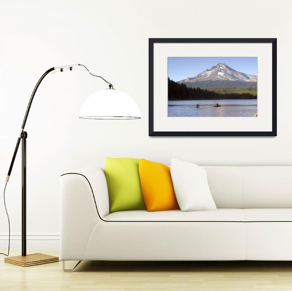 """Trillium Lake&quot  (2009) by christopherboswell"