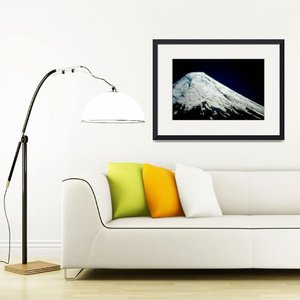 """Osorno Volcano, Chile&quot  by adelaidebs"