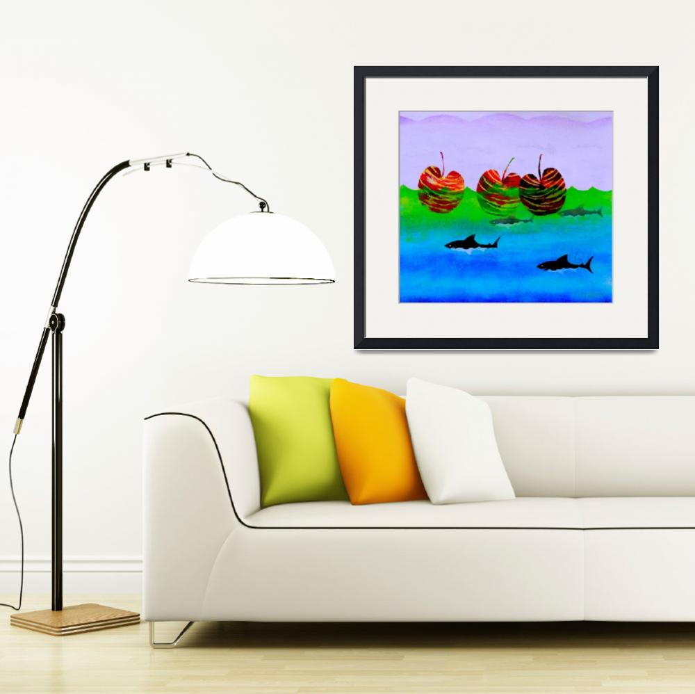 """WHEN APPLES RULED THE SEA&quot  (2008) by RandyEverett"