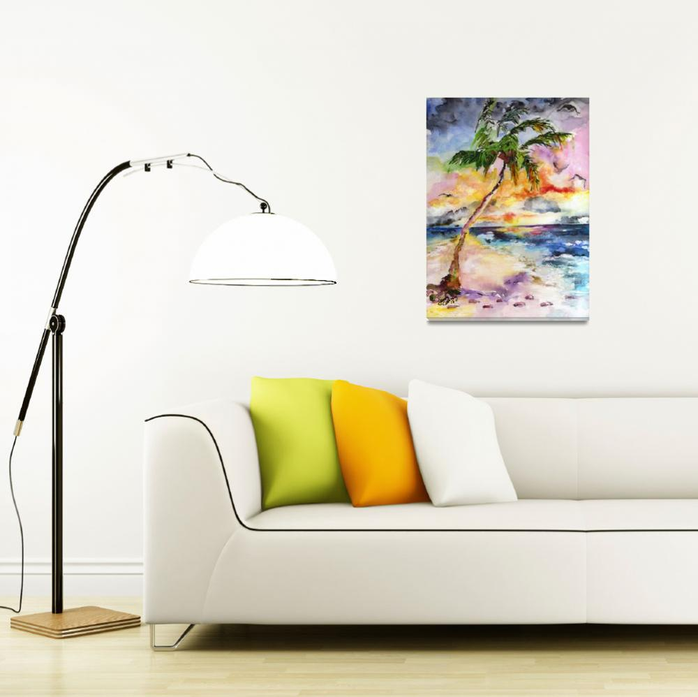 """Palm Beach and Tropical Summer Dreams&quot  (2015) by GinetteCallaway"