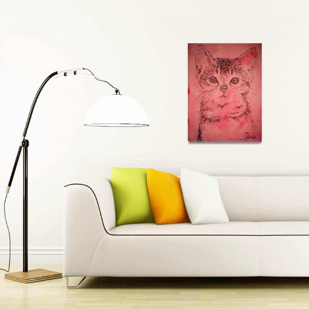 """Pink kitty...purrfect for a child"