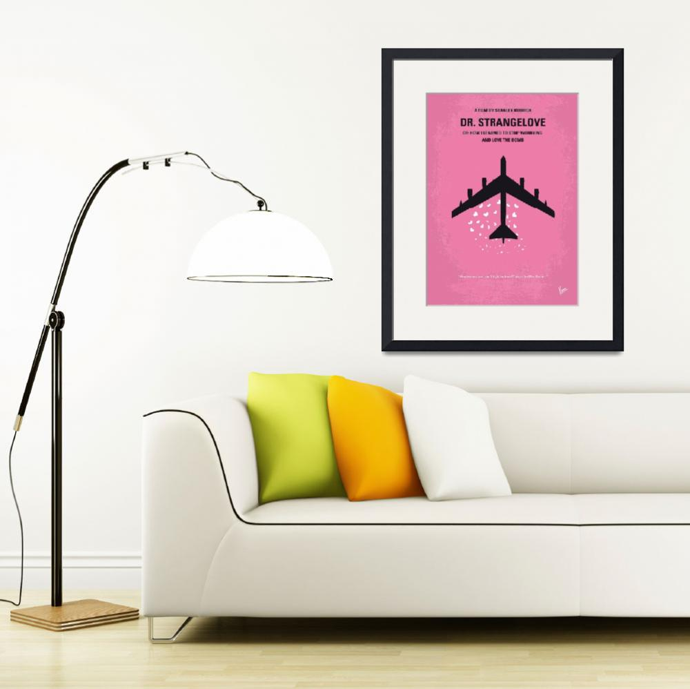 """No025 My Dr Strangelove minimal movie poster&quot  by Chungkong"