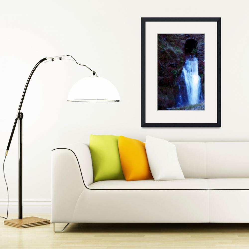 """Hard Castle Craggs Waterfall 1&quot  (2009) by TheStand"