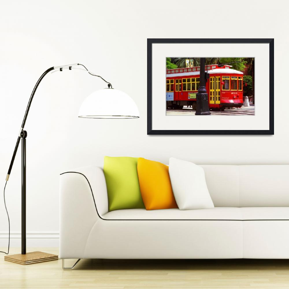 """New Orleans Trolley&quot  (2004) by Ffooter"