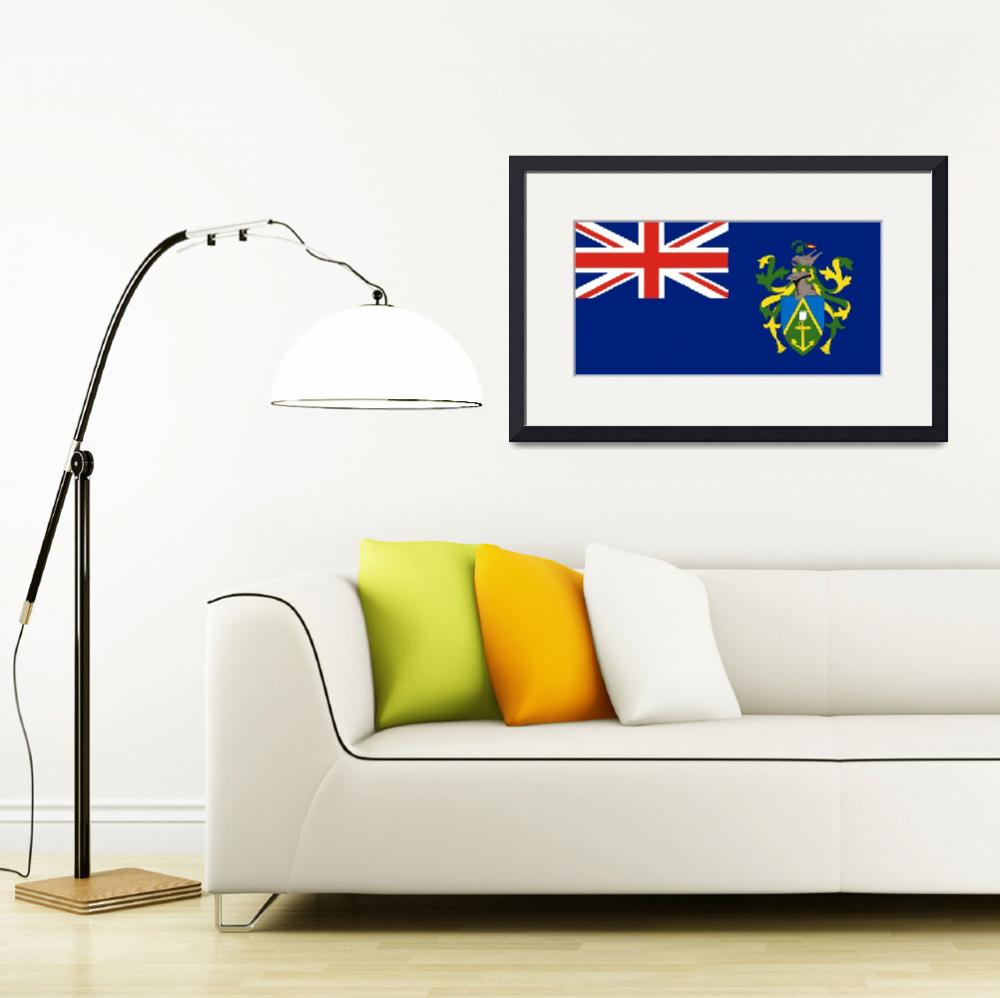 """Pitcairn Islands&quot  by tony4urban"