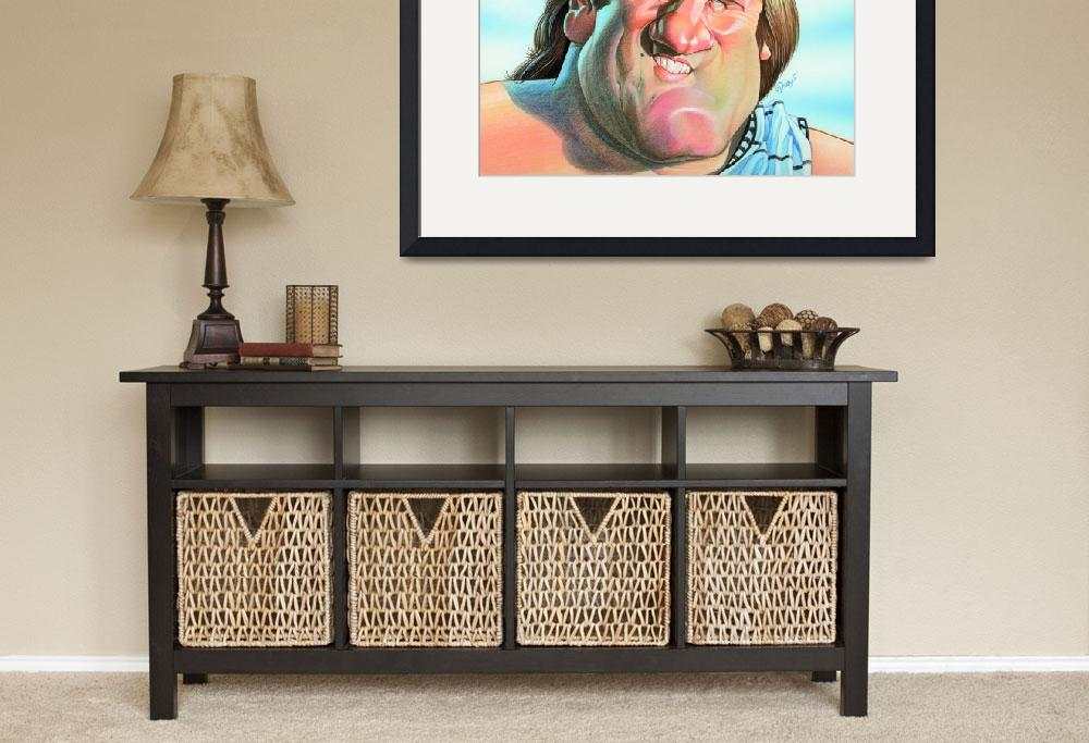 """Gerard Depardieu&quot  by odea"