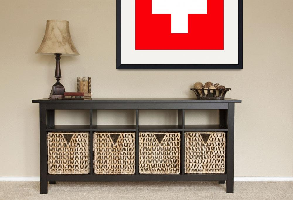 """Flag of Switzerland&quot  by ArgosDesigns"