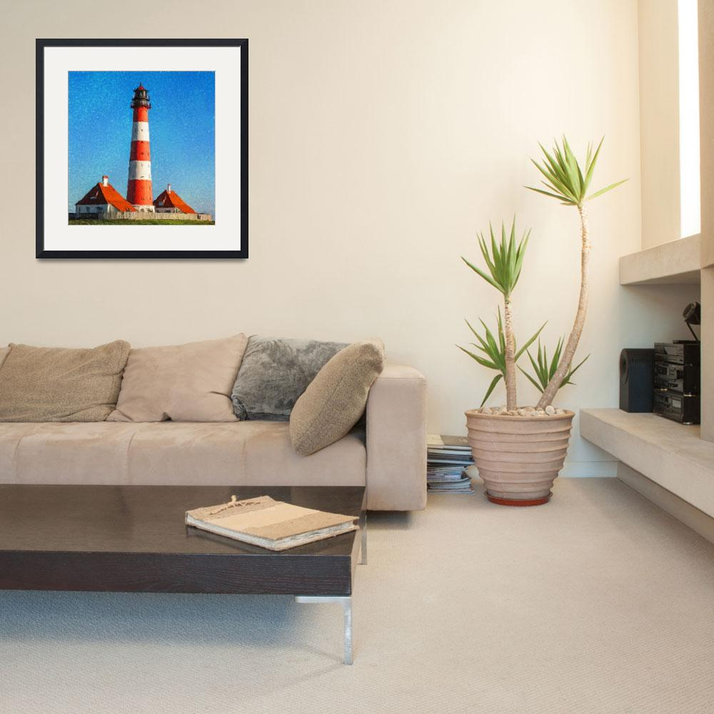 """Lighthouse - ID 16217-152032-4027&quot  by lurksart"
