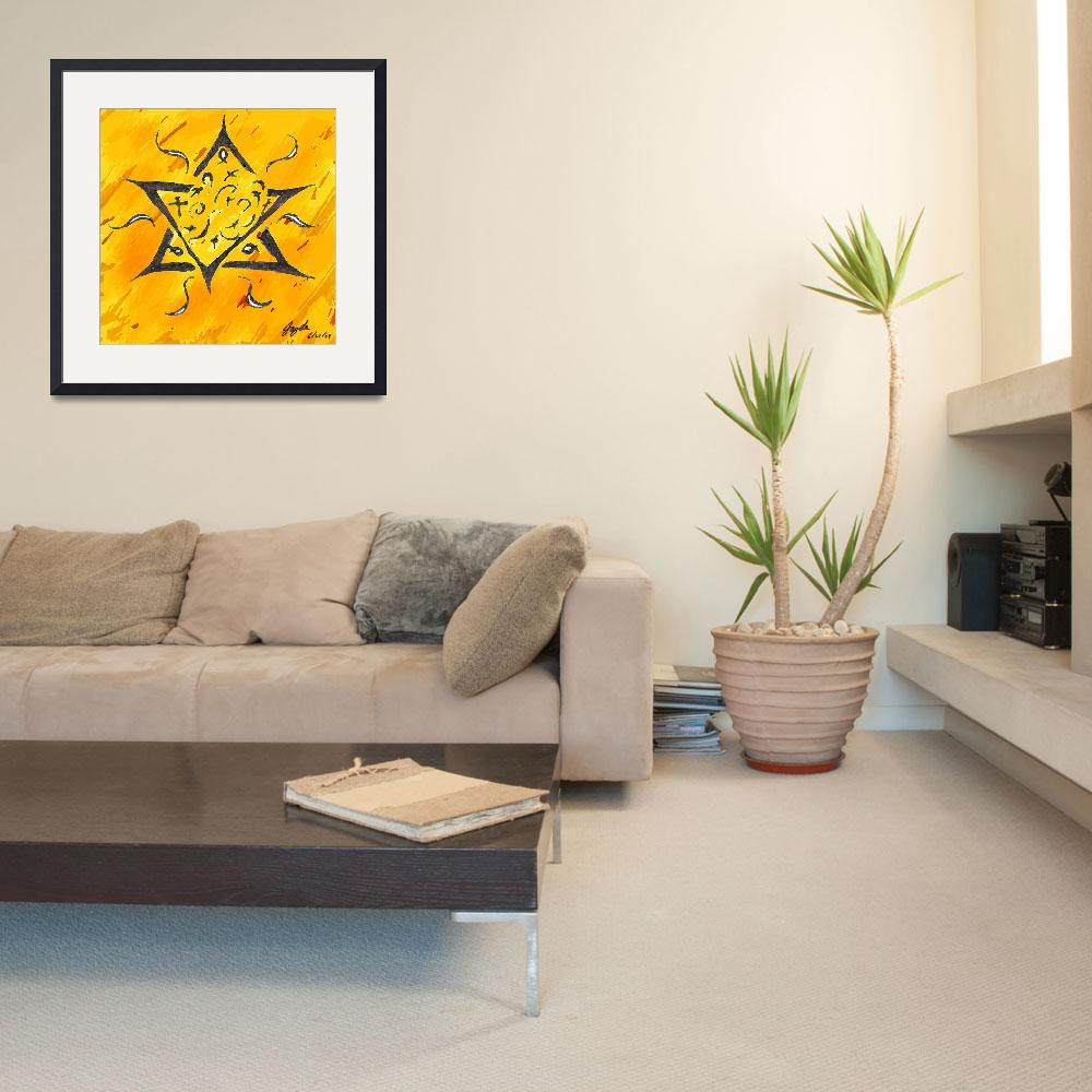 """Magen David (The star of David)&quot  (2009) by jaylee"