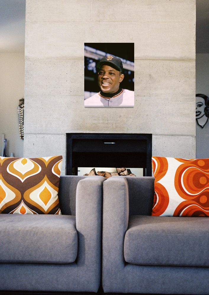 """Say Hey Willie Mays&quot  by RetroImagesArchive"