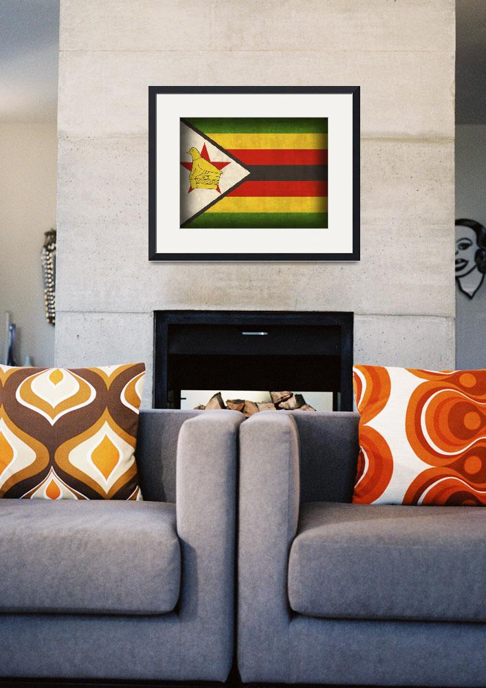 """Zimbabwe&quot  by artlicensing"