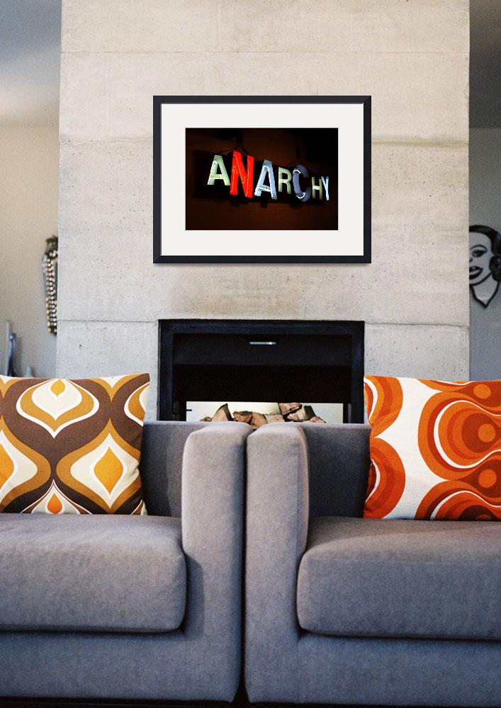 """Anarchy&quot  (2008) by midcenturymodern"