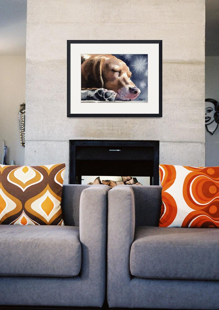 """""Beagle""&quot  (2015) by k9artgallery"