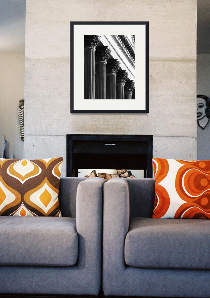 """Customs House Columns No. 1&quot  (2002) by PadgettGallery"