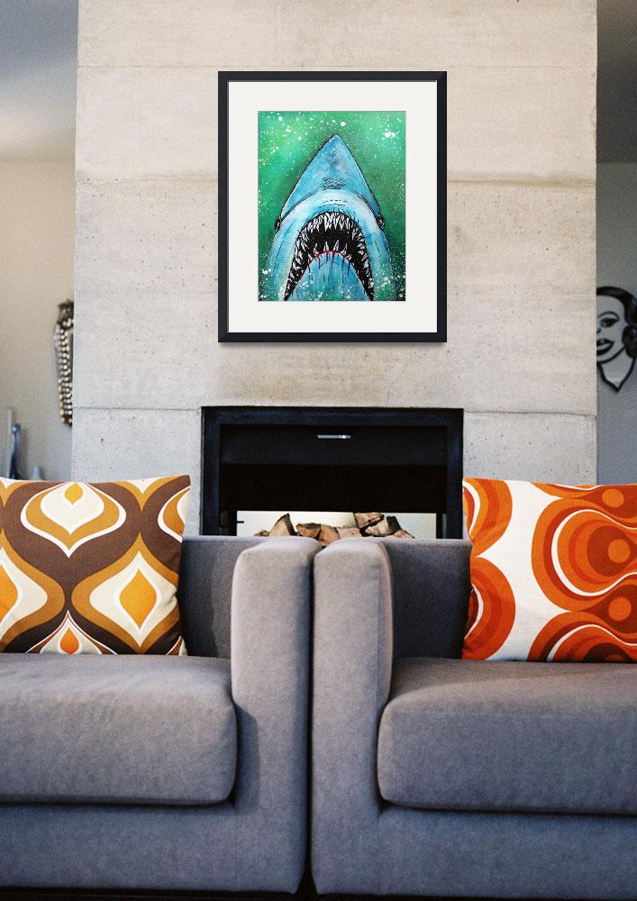 """Spawn of Jaws&quot  (2014) by ArtPrints"
