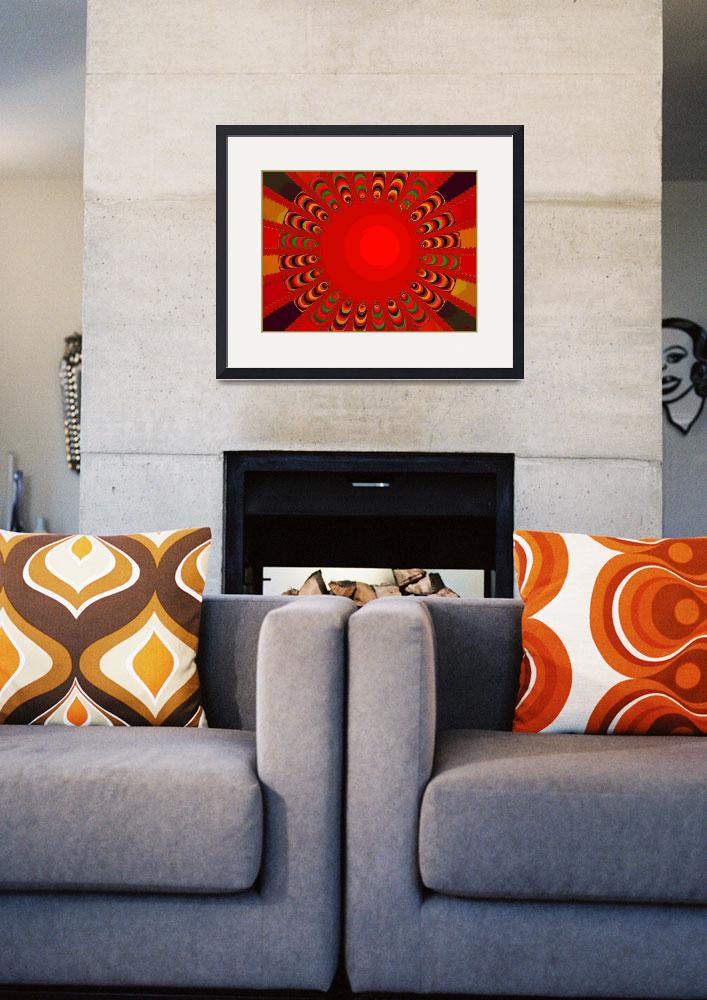 """Poster in Red&quot  (2008) by katekreations"
