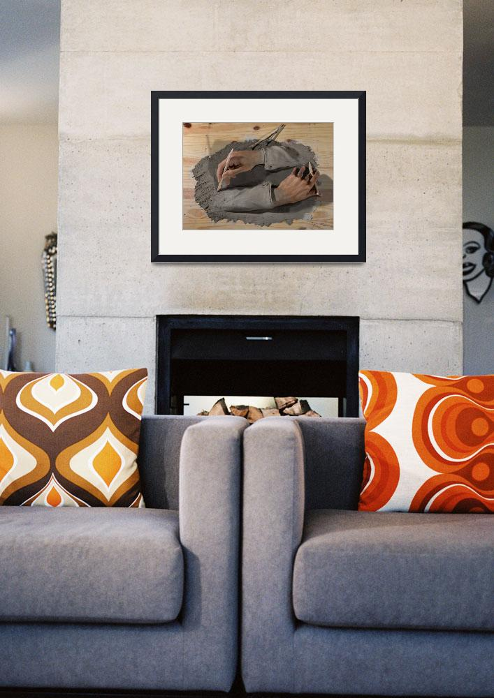 """Sculpting Hands&quot  by JoshSommers"