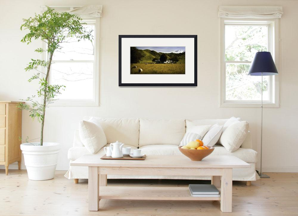 """Rural Panoramic Landscape&quot  (2010) by johncorney"