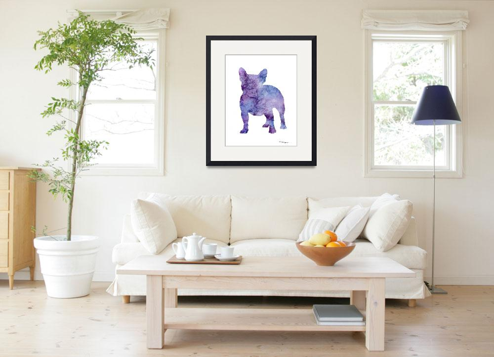 """French Bulldog&quot  (2015) by k9artgallery"