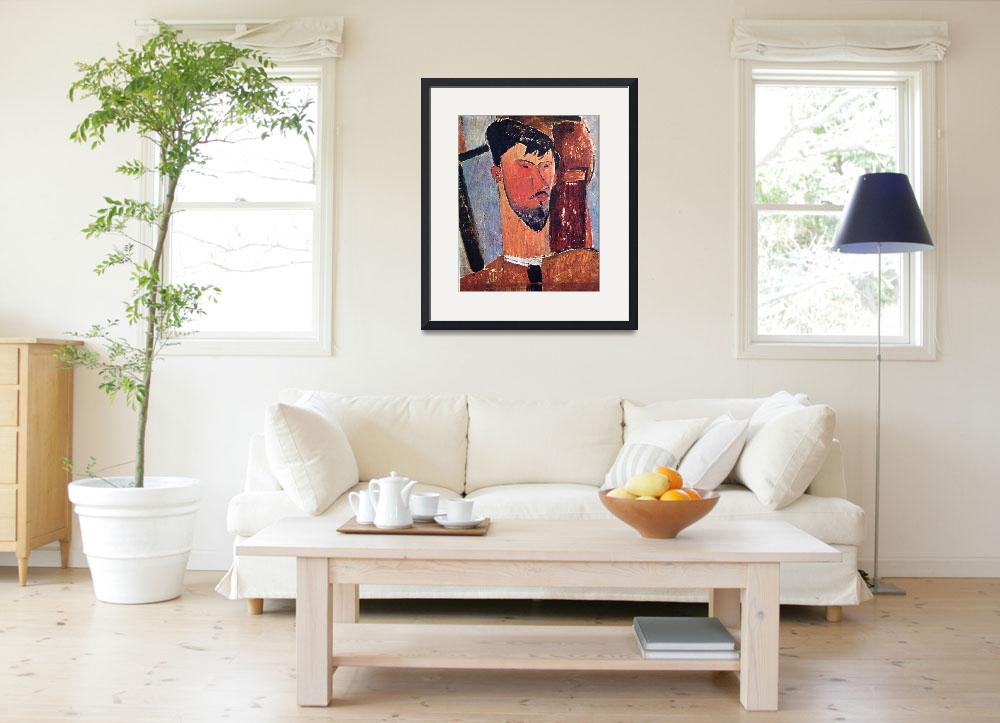 """Amedeo Clemente Modigliani Painting 17&quot  by ArtLoversOnline"