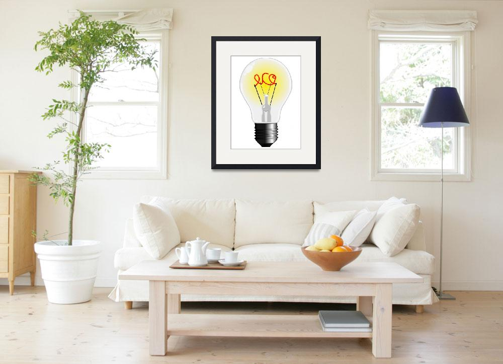 """eco light bulb&quot  by robertosch"