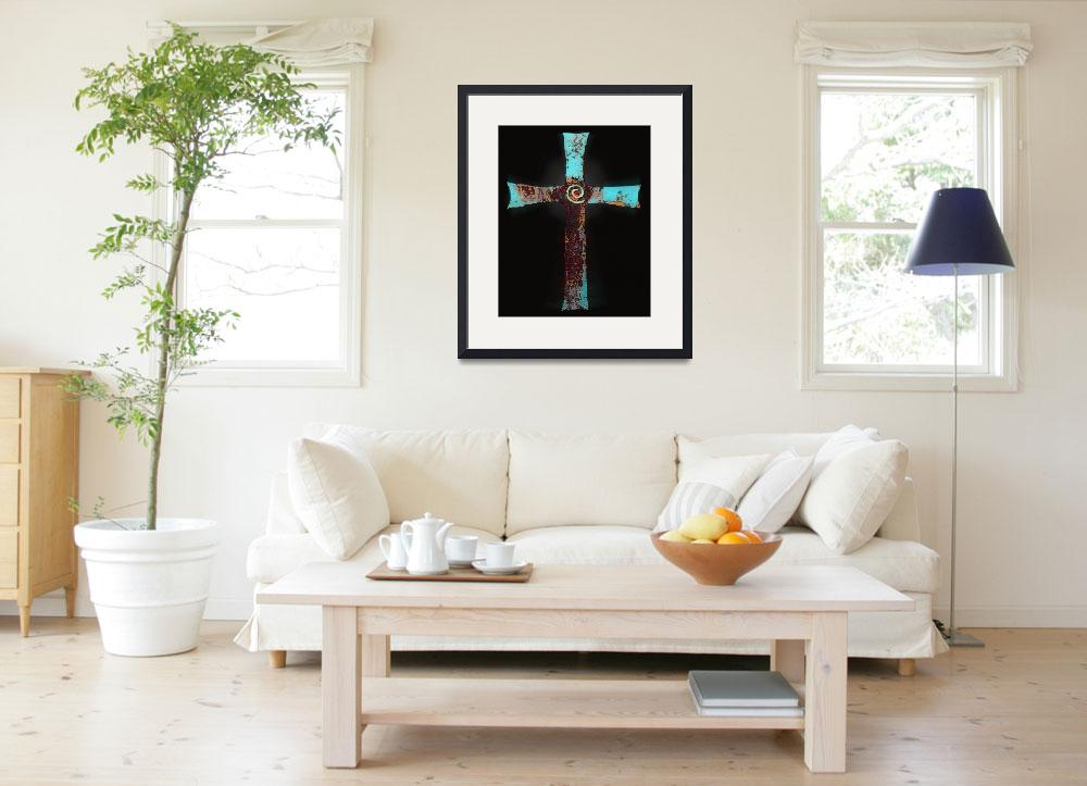 """""Santa Fe Cross""&quot  (2010) by Uhlinger"