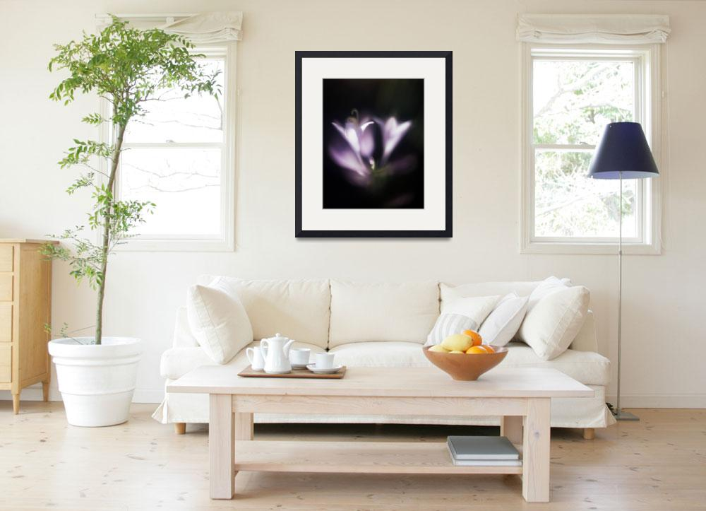 """hostas soft and dreamy photographic painting&quot  (2006) by jnanian"