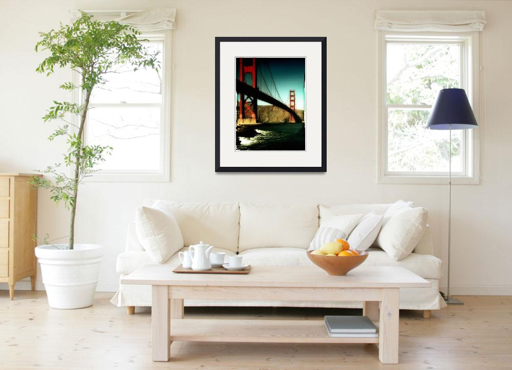 """Golden Gate Edge&quot  (2010) by PadgettGallery"