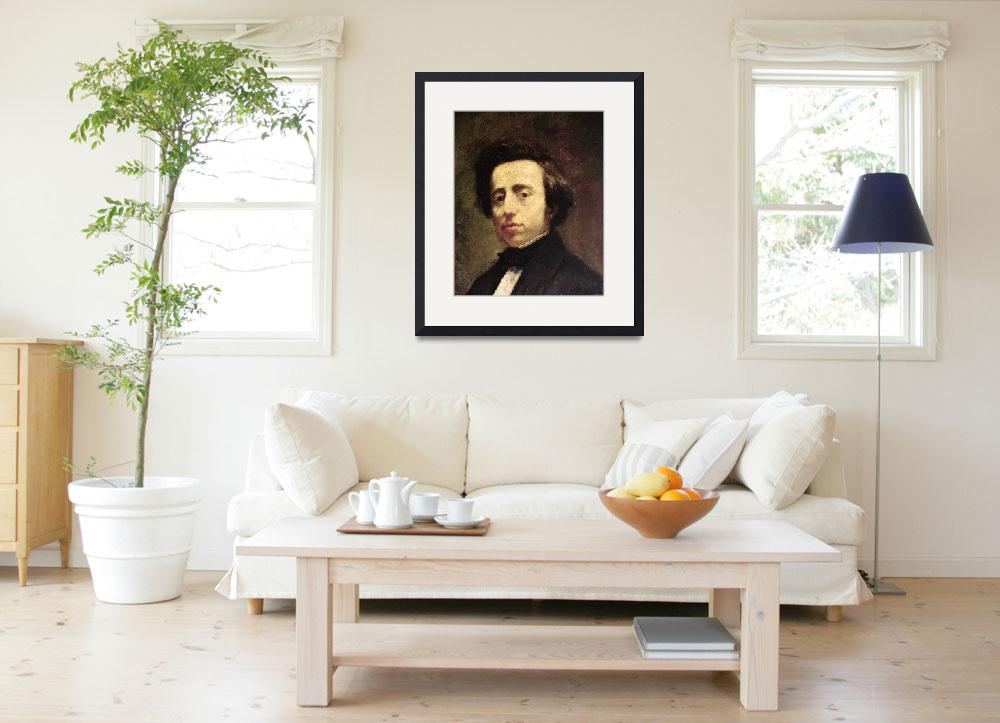 """Portrait of Frederic Chopin&quot  by fineartmasters"