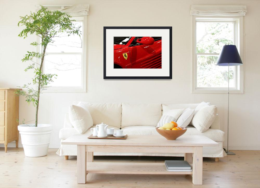 """1986 Ferrari Testarossa 5D20026&quot  by wingsdomain"