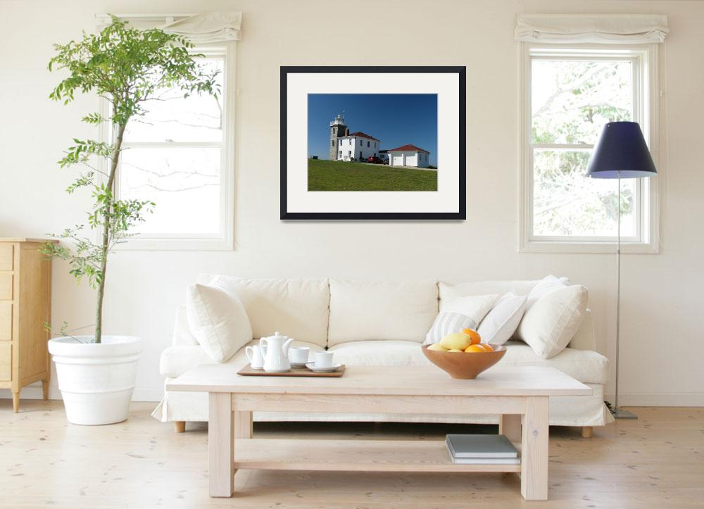 """Watch Hill Lighthouse&quot  (2008) by MarksClickArt"