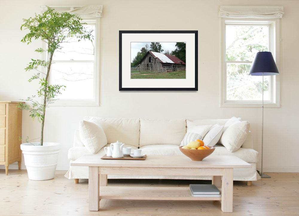 """Country Charm Fincher Barn&quot  (2009) by photographybydonna"