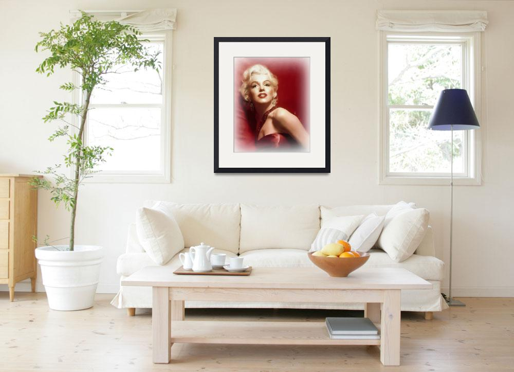 """Marilyn Monroe 16 x 20&quot  (2015) by johnrichardson"