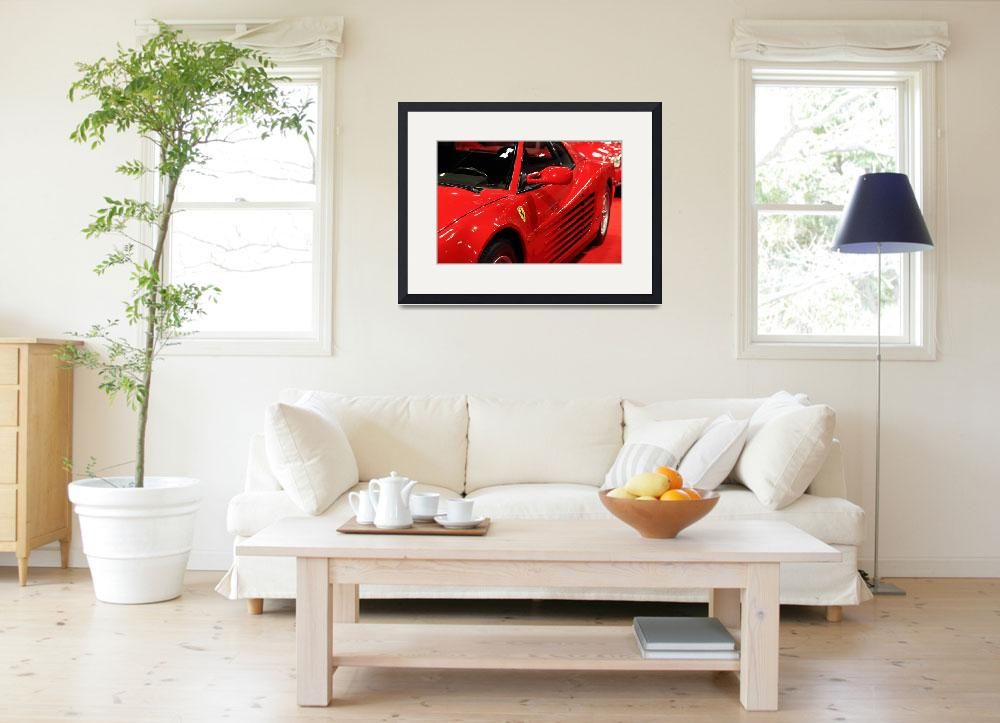 """1986 Ferrari Testarossa 5D20028&quot  by wingsdomain"