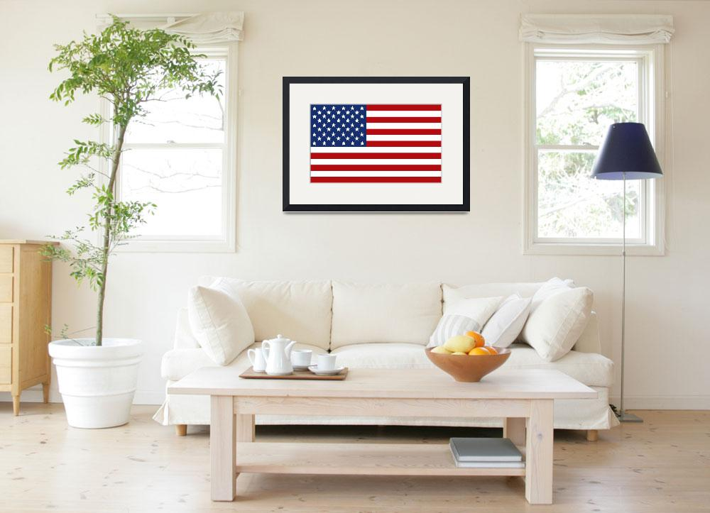 """Stars & Stripes&quot  (2009) by FantaSeaArt"