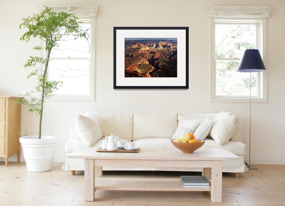 """Grand Canyon Vista No. 11&quot  (2008) by PadgettGallery"