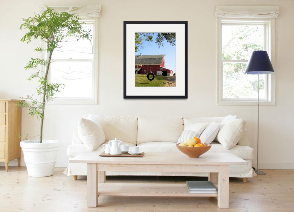 """Summer at the Wickenhauser Farm&quot  (2007) by rtremblay"