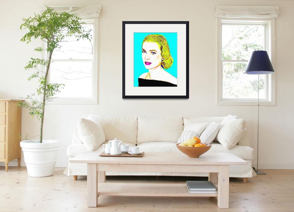 """Grace Kelly&quot  (2014) by ArtCinemaGallery"