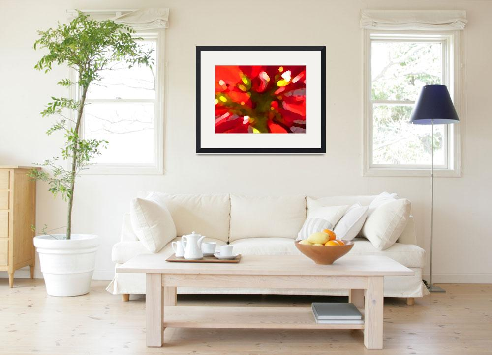 """Poinsettiia&quot  (2009) by AmyVangsgard"