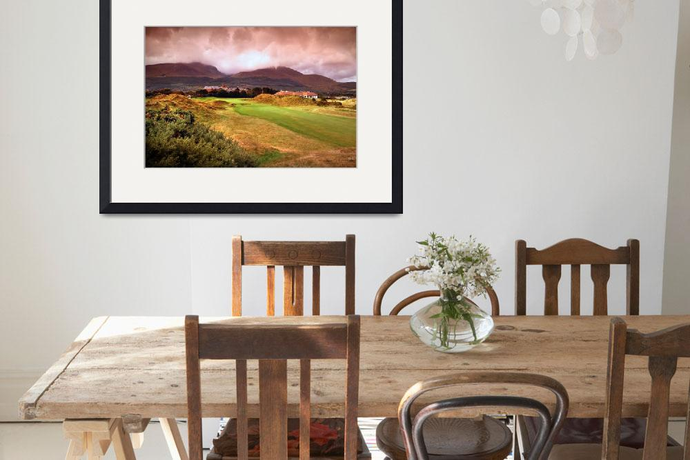 """Royal County Downs 9th Fairway&quot  by gallow"